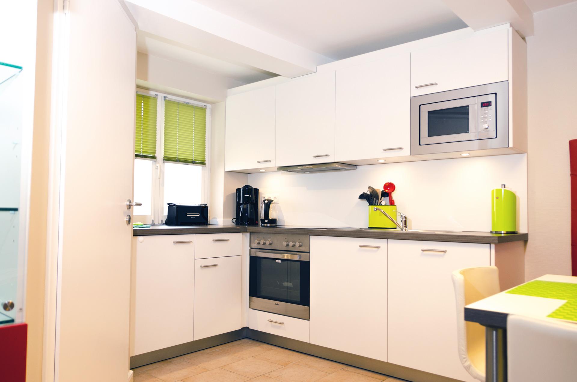 kueche ferienhaus warendorf. Black Bedroom Furniture Sets. Home Design Ideas